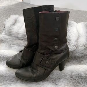 Shoes - Leather Booties